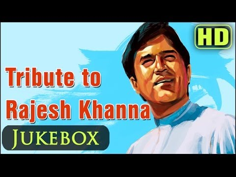 Rajesh Khanna Hit Songs Collection - Top 25 Bollywood Old Superhits - Evergreen Hindi Songs Jukebox