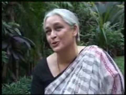 Nafisa Ali on the sets of movie LAHORE