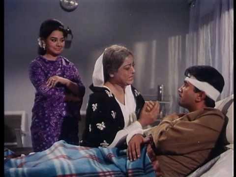 Aradhana - Emotional Scene - Sharmila Tagore, Rajesh Khanna & Farida Jalal