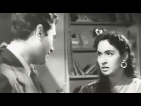 Fight between Dev Anand and Nutan