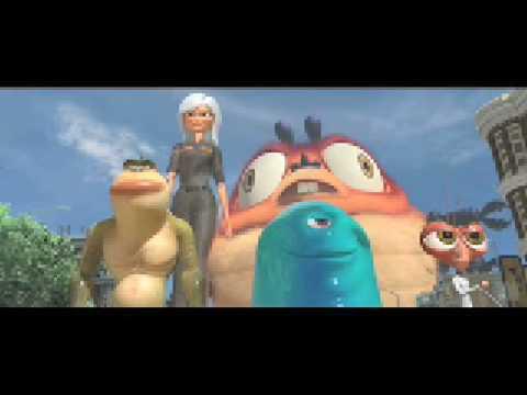 Monsters vs. Aliens (2009) HD Trailer