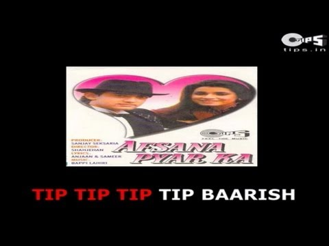 Tip Tip Tip Tip Baarish Shuru Ho Gayi with Lyrics - Afsana Pyar Ka - Aamir Khan - Sing Along