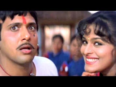 Angna Mein Baba - Govinda, Shilpa Shirodkar, Aankhen Song