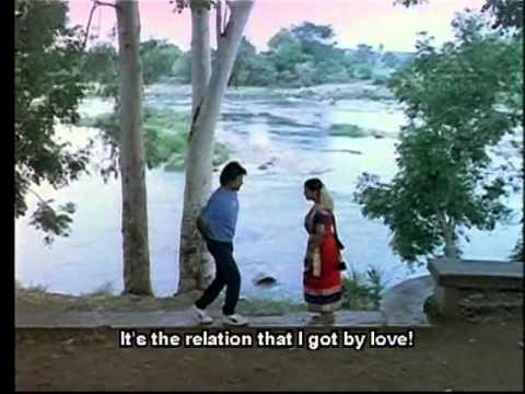 Rajnikanth & Radhika in Maasi Maasamthan from Oorkavalan