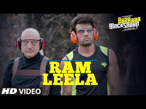 Ram Leela Video Song | Baa Baaa Black Sheep | Anupam Kher | Maniesh Paul | Manjari Fadnnis