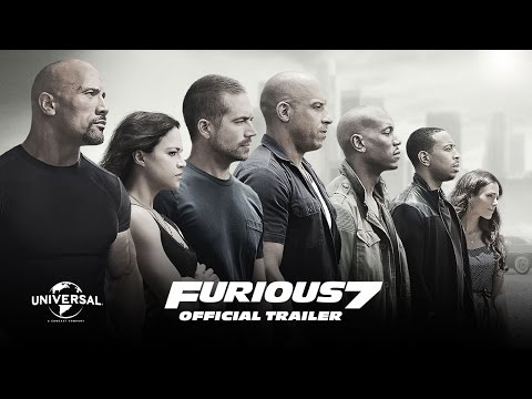 Furious 7 Official Theatrical Trailer (HD)