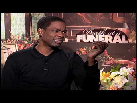DEATH AT A FUNERAL , Chris Rock Interview