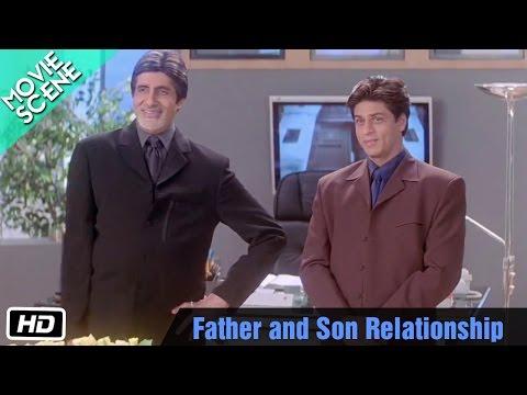 Father and Son Relationship Kabhi Khushi Kabhie Gham -Scene