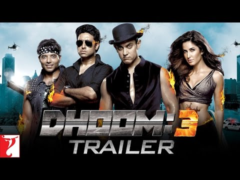 DHOOM:3 - Trailer - Aamir Khan | Abhishek Bachchan | Katrina Kaif | Uday Chopra