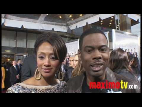 CHRIS ROCK Interview at 'DEATH AT A FUNERAL' World Premiere