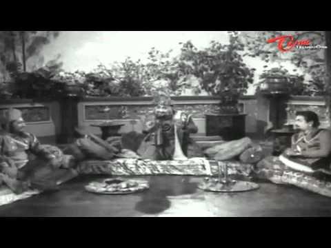 Bandipotu Songs - O Ante Theliyani O devayya - NTR - E V Saroja