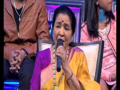 Asha Bhosle remembers Lata Mangeshkar - Nissan Sa Re Ga Ma Pa Li'l Champs 5