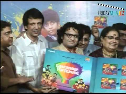 Catch Kay Kay Menon and Usha Uthup at the audio Launch of Satrangi Parachute
